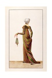 Robes De Madras from Journal Des Dames, 1800 Giclee Print by Pierre de La Mesangere