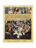 Contending for a Seat, Plate 2 from 'Theatrical Pleasures', 1827 Giclee Print by Theodore Lane