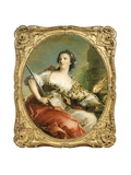 La Force, a Personification of Fortitude, 1743 Giclee Print by Jean-Marc Nattier