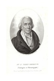 Jacques-Louis Marin De France Giclee Print by Ambroise Tardieu
