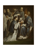 Study for the Sacrament of Ordination, before 1712 Giclee Print by Giuseppe Maria Crespi