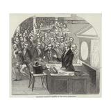 Michael Faraday Giclee Print