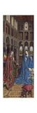 The Annunciation, C. 1434- 36 Wydruk giclee autor Jan van Eyck