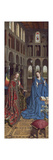 The Annunciation, C. 1434- 36 Giclée-Druck von  Jan van Eyck