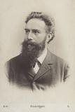 Wilhelm Roentgen (1845-1923), German Physicist Papier Photo