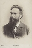 Wilhelm Roentgen (1845-1923), German Physicist Photographic Print