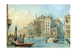 Palaces on the Grand Canal Giclee Print by Samuel Prout