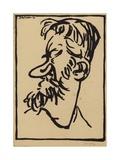 George Bernard Shaw Giclee Print by Joseph Simpson