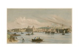 Greenwich and the Dreadnaught, C 1840 Giclee Print by William Parrott