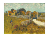 Farmhouse in Provence, 1888 Giclee Print by Vincent van Gogh