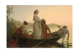 An Idyll of Marriage Giclee Print by Henri Pierre Picou