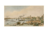 Westminster and Hungerford from Waterloo Bridge, C 1840 Giclee Print by William Parrott
