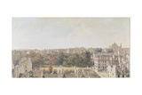 View of Paris from the Belvedere of M. Fornelle, Rue Des Boulangers, 1787 Giclee Print by Louis-Nicolas de Lespinasse