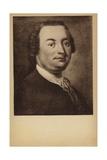 Johann Christian Bach, German Composer of the Classical Era (1735-1782) Giclee Print by Georg David Matthieu