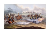 The British Royal Horse Artillery - Rocket Troop, 1835 Giclee Print by William Heath