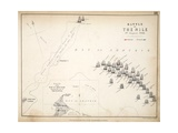 Map of the Battle of the Nile, Published by William Blackwood and Sons, Edinburgh and London, 1848 Giclee Print by Alexander Keith Johnston