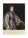 Elisabeth of France Giclee Print by Antonio Moro