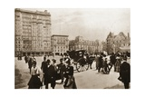 In Front of the Plaza Hotel, New York City, 1896 Giclee Print