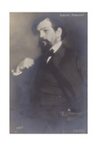 Claude Debussy, French Composer (1862-1918) Photographic Print by Jacques-emile Blanche