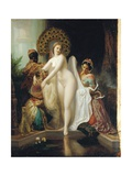 The Dressing Room Giclee Print by Henri Pierre Picou