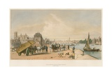Lambeth and Westminster from Milbank Giclee Print by William Parrott