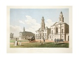 Blue-Coat Hospital, Dublin, 1798 Giclee Print by James Malton