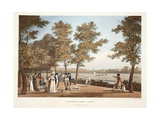St. Stephen's Green, Dublin, 1796 Giclee Print by James Malton