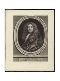 Self Portrait of French Engraver Robert Nanteuil Giclee Print by Robert Nanteuil