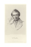 Portrait of John Ruskin Giclee Print by George Richmond
