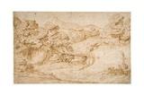 Landscape, C.1517 Giclee Print by Domenico Campagnola