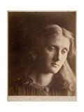 La Santa Julia, Portrait of Julia Prinsep Jackson, 1867 Giclee Print by Julia Margaret Cameron