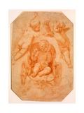 The Triumph of Love Lámina giclée por  Domenichino