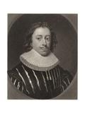Edmund Waller Giclee Print by Cornelius Jansen
