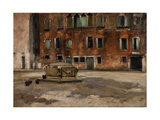 Campo S. Agnese, Venice, C.1890 Giclee Print by John Singer Sargent