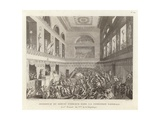 Assassination of Deputy Jean Bertrand Feraud in the National Convention Giclee Print by Jean Duplessi-Bertaux