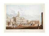 Lying-In Hospital, Dublin, 1795 Giclee Print by James Malton