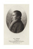Francois Peron Giclee Print by Charles Alexandre Lesueur