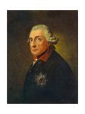 Frederick II, King of Prussia, C.1851-1900 Giclee Print by Anton Graff