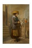 Saxon Kitchen Maid, 1756 Giclee Print by Charles-francois Hutin