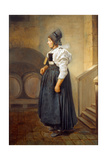 Maid in the Basement, 1756 Giclee Print by Charles-francois Hutin
