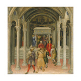 The Crippled and Sick Cured at the Tomb of Saint Nicholas, 1425 Giclee Print by Gentile Da Fabriano