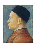 Portrait of a Man, C. 1470 Giclee Print by Andrea Mantegna