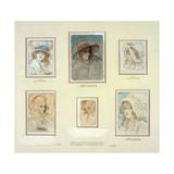 Six Fancy Heads of Women Giclee Print by Sir Joshua Reynolds