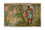 Melusine Discovered in the Forest Giclee Print