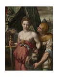 Judith with the Head of Holofernes, C.1550-75 Giclee Print by Vincent Sellaer