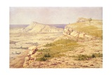 View of the Island of Rhodes Giclee Print by Richard Dadd