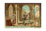 Othello Overhears Iago and Cassio Giclee Print