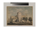 Orpington Church, Kent, 1768 Giclee Print by John Inigo Richards