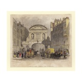 Temple Bar Giclee Print by Thomas Hosmer Shepherd