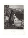 Faithful Gelert Giclee Print by Daniel Maclise